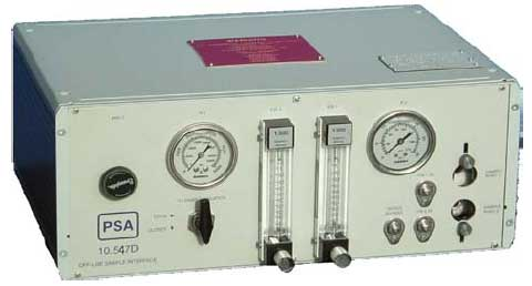 PSA10.547D 天然气汞测定减压采样系统